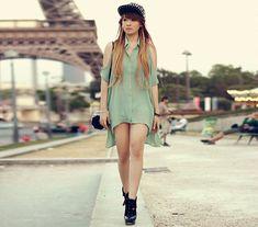 Spikes (by Anastasia Siantar) http://lookbook.nu/look/3979188-Spikes