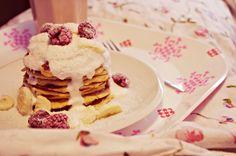 FitFoodManic: Nedělní snídanění: Ovesné lívanečky
