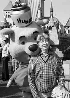 Sterling Holloway - Sleeping Beauty Castle Disneyland 1968. He was the voice of many disney characters, but is best known for Winnie the Pooh! he did a great number of TV and movie roles as well! I remember him guest appearing on the Andy Griffith show