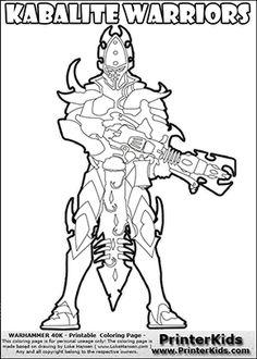 Warhammer 40k Coloring