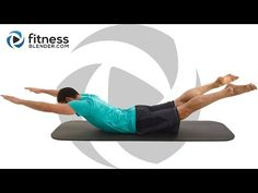 Abs and Lower Body Pilates Workout for Beginners to Intermediate - YouTube