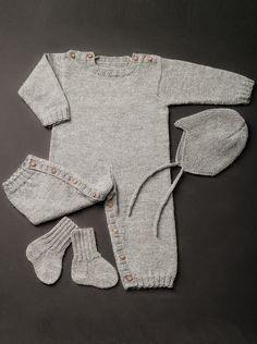 Neulotut vauvan villasukat Novita Nalle | Novita knits Knitting Yarn, Baby Knitting, Children, Kids, Knit Crochet, Rompers, Pattern, Handmade, Clothes
