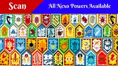 All Lego Nexo Powers / Nexo Shield - Scan and Enjoy - YouTube
