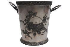 19th-C. Ice Bucket on OneKingsLane.com