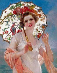 Artist Francois Martin-Kavel   Paris, 1861-1931