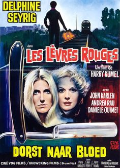 """""""Les lèvres douges"""" = """"Daughters of darkness"""" - Harry Kumel (1971)"""