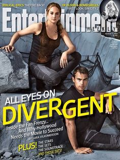 Divergent on the cover of Entertainment Weekly