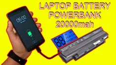 How To Make A Power Bank Fast Charge | Old Laptop Battery Tv Panel, Car Amplifier, Voltage Regulator, Electronics Projects, Home Automation, Audio System, Science And Technology, Circuit, Laptop