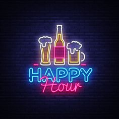 Download Cheers bar neon sign vector   free image by rawpixel.com ...