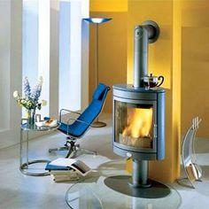 Max Blank Mega Elegance wood stove fireplace by Fiamma llc. from Max Blank Stove Fireplace, Cozy Fireplace, Pellet Stove, Cooking Stove, Wood Burner, Bed Sheet Sets, Platform Bed, Luxury Homes, House Plans