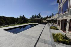 Palm Beach Style Fiberglass Inground Pool | Luxury Pools and Living