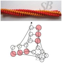twisted herringbone ~ Seed Bead Tutorials