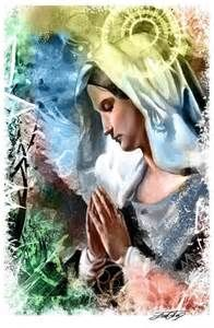 Thank you Mother Mary for watching over us, loving us and guiding us.