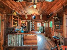 House Crush: Tour This Salvage Chic Tiny Lake House in Texas  - CountryLiving.com