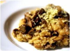 Elvira's Bistrot: Risotto com cogumelos e queijo #Nhammm