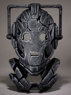 """""""You are inferior.  Man will be reborn as Cyberman, but you will perish under Maximum deletion.""""  Complete your interior décor with this striking and unique contemporary sculpture depicting the latest variant of the Cyberman as initially introduced in the episode 'A Nightmare in Silver'."""