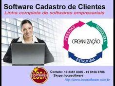 Software cadastro de clientes Software cadastro