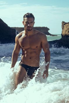 perfect except maybe not the bikini brief - who cares about the brief, he's lucky he can get away with it....OMG he is beautiful