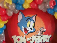 Tom & Jerry Anniversary (Wedding) Party Ideas | Photo 12 of 13 | Catch My Party