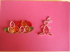 quilled easter | Quilling by Anca Milchis: Restored quilling card