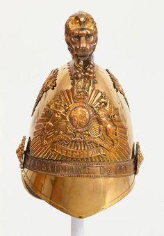 Officers' metal helmet, 6th (Inniskilling) Dragoons, 1840