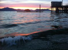 An Alaskan Sunset