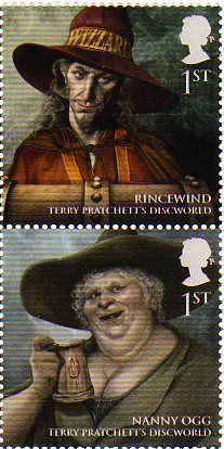 Discworld honored by the UK Royal Mail. I haven't collected stamp's since I was a kid! I think it may be time to start again! Terry Pratchett Discworld, Story Titles, Bestest Friend, Joy Of Life, Neil Gaiman, I Love Books, Book Nerd, Reading, Cool Photos