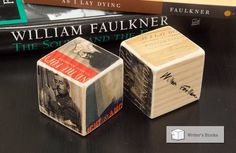 Writer's Block: William Faulkner by LiteratureLodge on Etsy