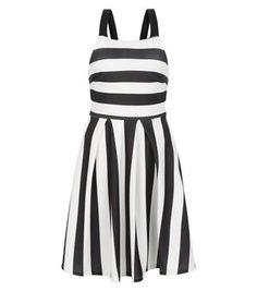 http://www.newlook.com/shop/womens/dresses/black-wide-stripe-prom-dress-_377384109