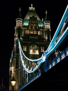 Tower Bridge (built 1886–1894) is a combined bascule and suspension bridge in London, over the River Thames.