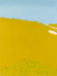 "11:30 AM by Alex Katz, 2008, oil on linen, 96 × 72"" (243.8 × 182.9 cm) 