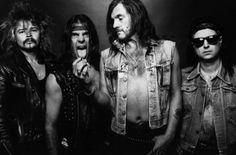 Phil Taylor, Würzel, Lemmy Kilmister und Phil Campbell.