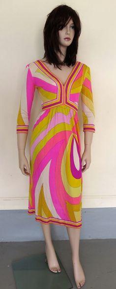 Vintage Emilio Pucci Dress Authentic Vintage Emilio Pucci