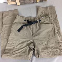 MEN'S The North Face Size Medium Paramount Peak II Convertible Pants Beige #TheNorthFace #Cargo