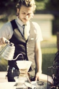 kind of want a barista at my wedding doing pour overs after dinner.