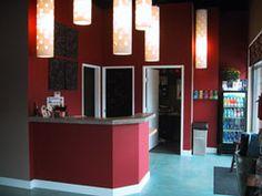 Lobby of Bikram's Yoga Colorado