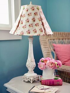 DIY Pleated Lampshade