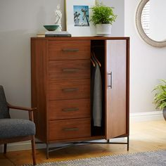 City Chifforobe – Walnut | west elm