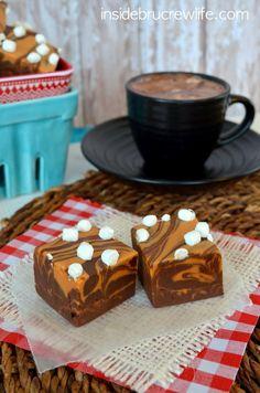 Caramel Hot Chocolate Fudge (GF)