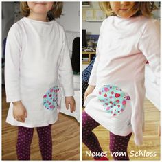 Neues Shirt aus altem Shirt / New shirt made from old shirt / Upcycling
