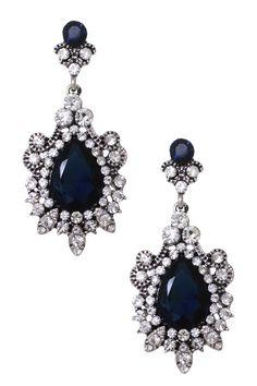 Glittery Chandelier Earrings -- www.whitesrose.etsy.com Go here for your Dream Wedding Dress & Fashion Gown!
