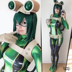 Froppy - My Hero Academia by Kinpatsu-Cosplay.deviantart.com on @DeviantArt - More at https://pinterest.com/supergirlsart #mha #cosplay #girl #cosplaygirl