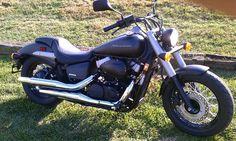Honda Shadow - Black Matte