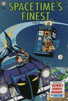 Batman & Dr. Who makes more sense that superman and batman ijs