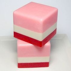 Handmade Soap 110760472065248381 - Strawberries and Cream Soap Love Soap Soap by asliceofdelight Source by AroundRobot Diy Soap Kit, Savon Soap, Soap Maker, Homemade Soap Recipes, Soap Packaging, Cold Process Soap, Strawberries And Cream, Home Made Soap, Handmade Soaps