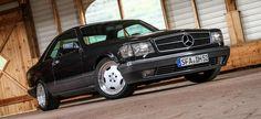 Hasse mal ne (S-)Klasse? Mercedes 560 SEC aus Kennerhand Mit wenigen Details wird ein ästhetisches Coupé zum Hingucker