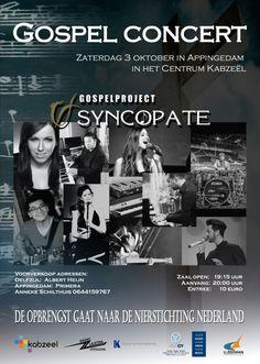 Poster gospel concert