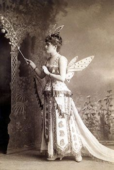 Vintage photo #fairy costume