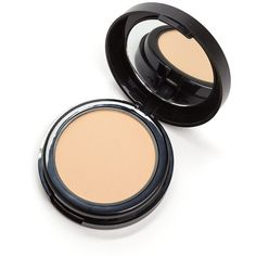 NYX Hydra Touch Powder Foundation NATURAL ($20) ❤ liked on Polyvore featuring beauty products, makeup, face makeup, foundation, tan, powder foundation, pressed powder foundation and moisturizing foundation