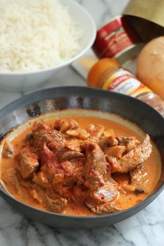 Boeuf stroganoff Curry, Cooking, Ethnic Recipes, Food, Greedy People, Dish, Recipes, Kitchen, Curries